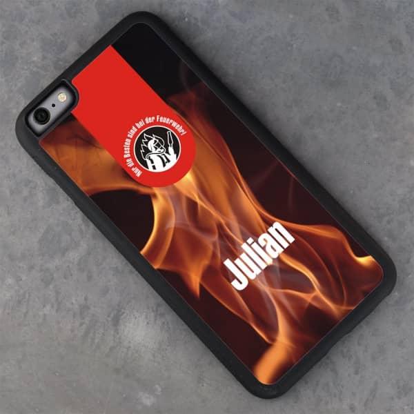 schwarze iPhone 6 Plus Schutzhülle für Feuerwehrmänner