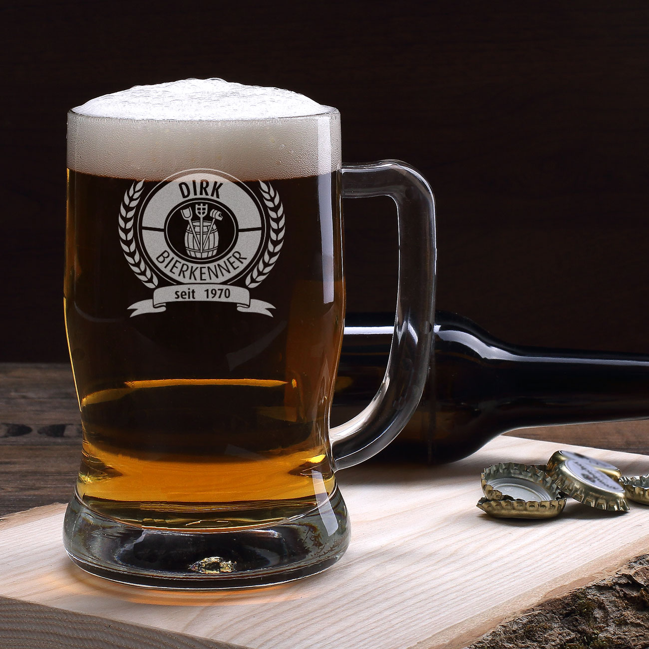 personalisierte bierkruege bierglaeser graviert