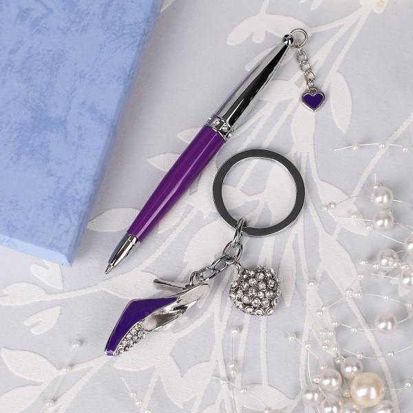 Kugelschreiber in violett
