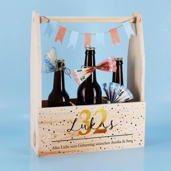 DIY Vorschlag für Geldgeschenk zum Geburtstag