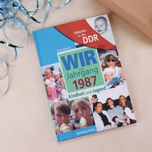 Jahrgangsbuch 1987 Kindheit und Jugend in der DDR