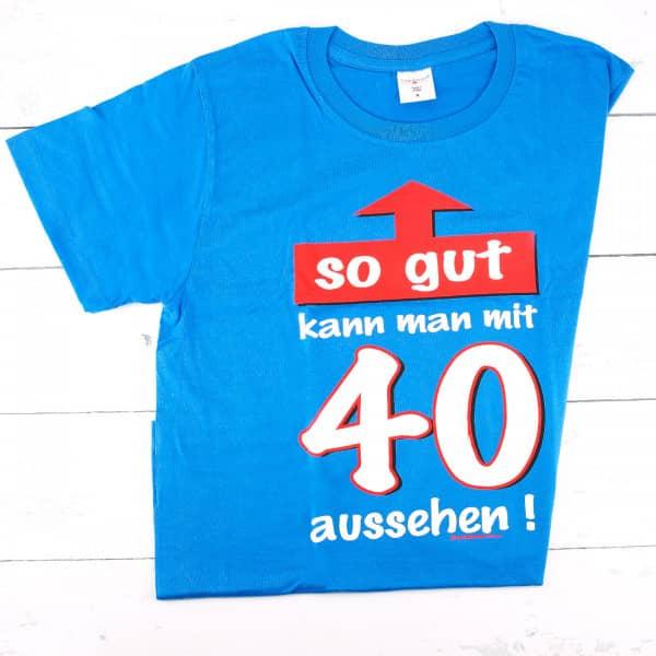 T-Shirt zum 40. Geburtstag