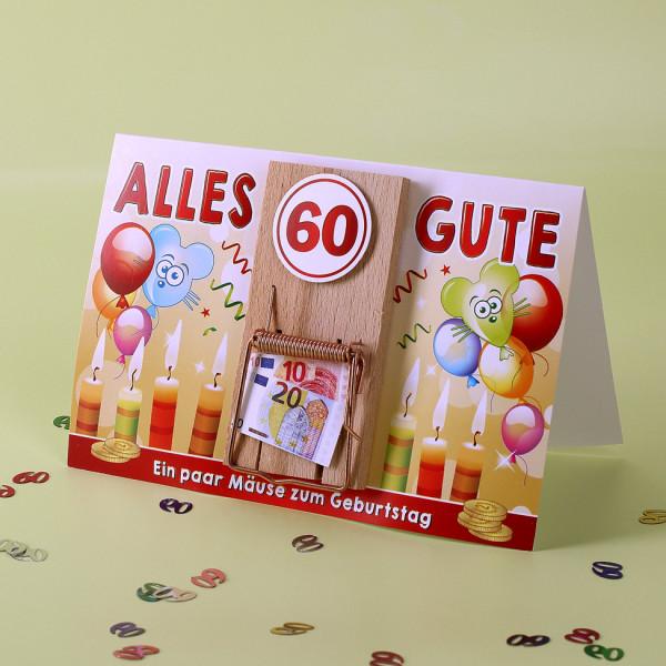 Ein paar Mäuse zum 60. Geburtstag