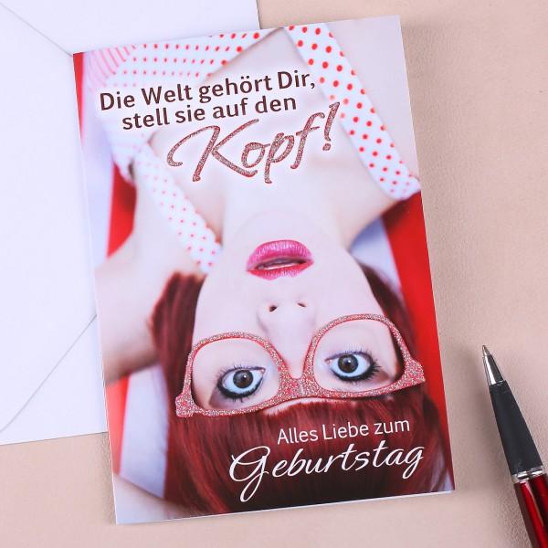 Geburtstagskarte für Frauen