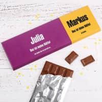 300g Schokolade zum gerechten Teilen für Paare