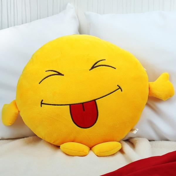 Kissen - Smile-Face frech mit Füßen und Händen