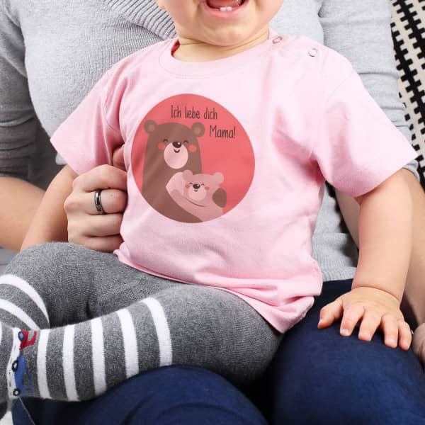 Süßes Babyshirt mit Bären zum ersten Muttertag