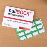 Kaugummi Motivationsmittel - nullBock