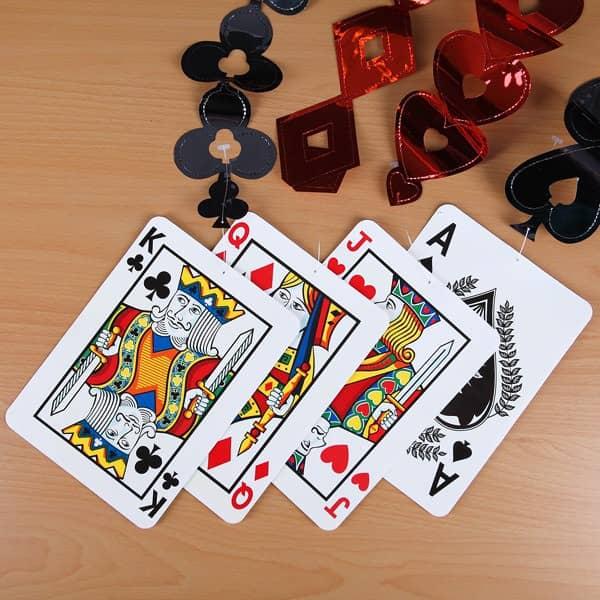 Deckenhänger Poker