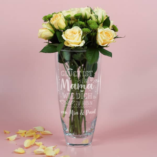 Vase zum Muttertag