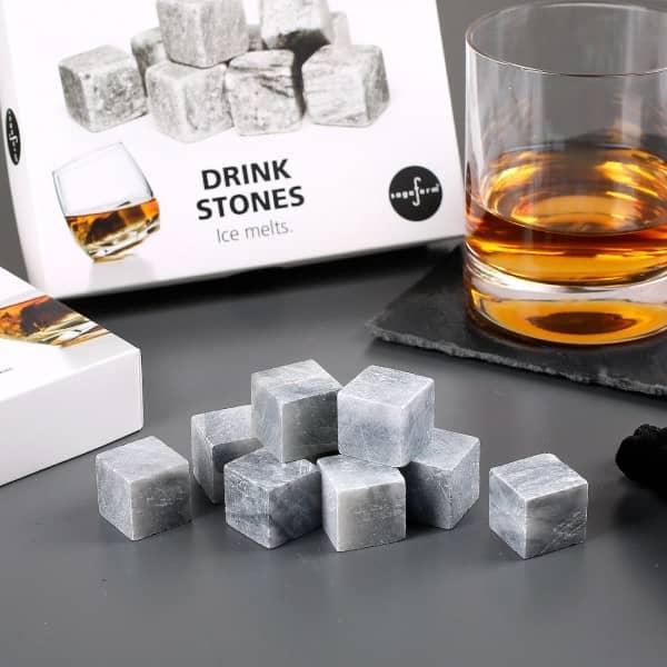 9er Set Kühlsteine aus Granit