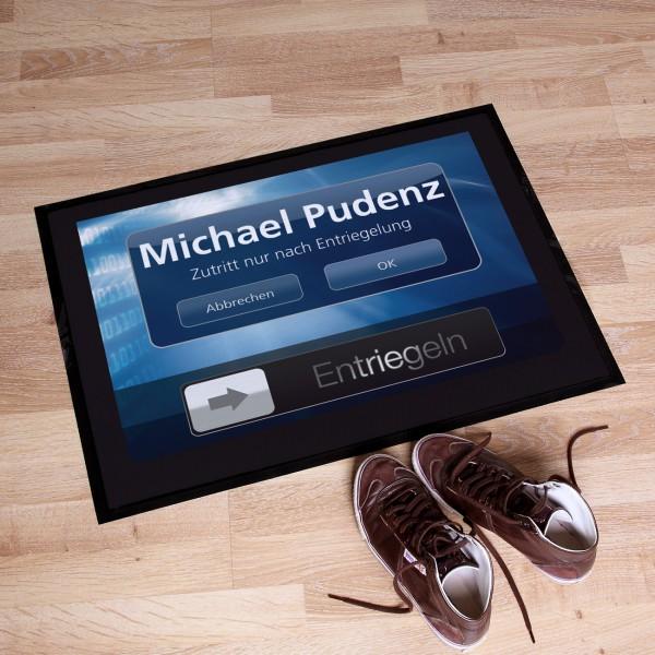 Fußmatte Touchscreen