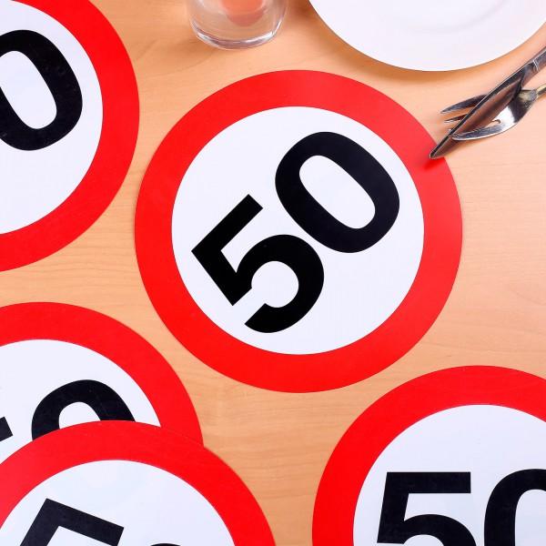 Riesen-Konfetti zum 50. Geburtstag