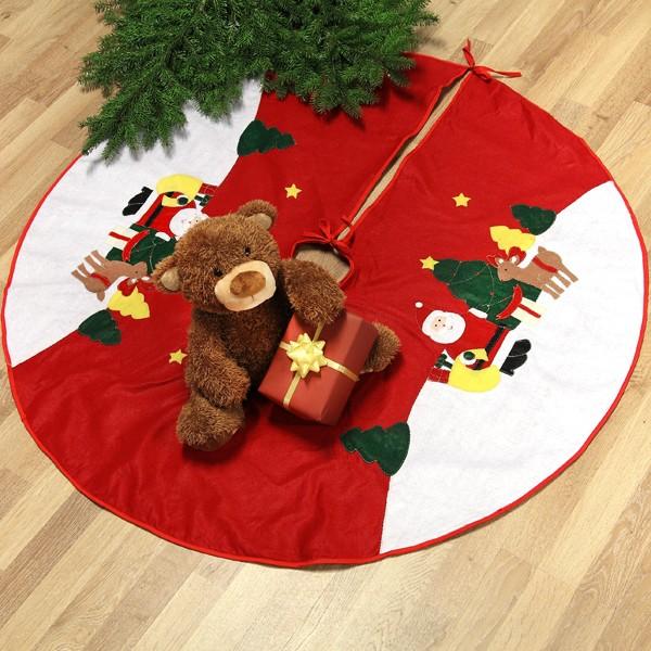 weihnachtliche Christbaumdecke