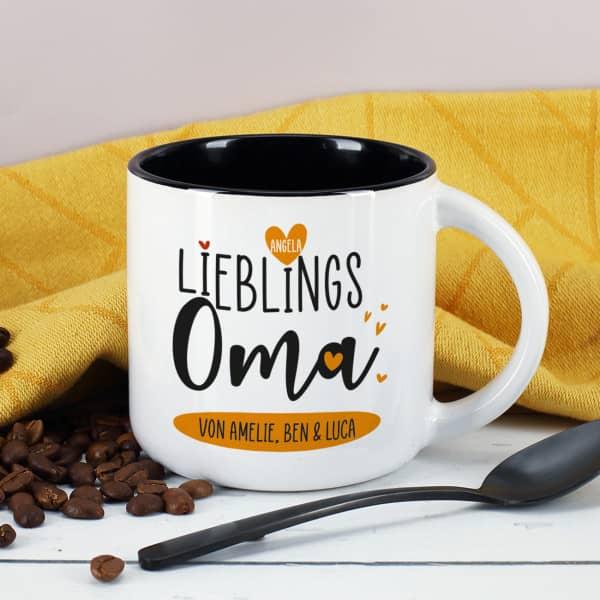 Großer Kaffeepott für die Lieblingsoma