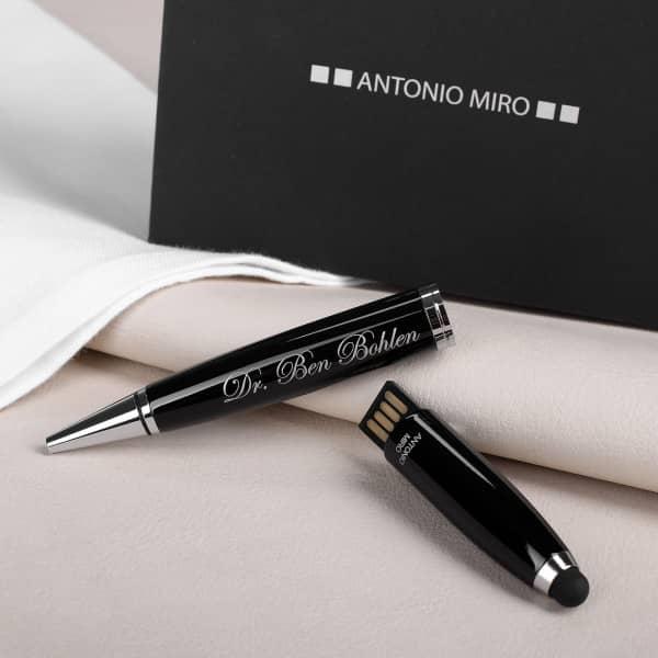 Individuellbesonders - USB Kugelschreiber mit 32 GB und Namensgravur - Onlineshop Geschenke online.de