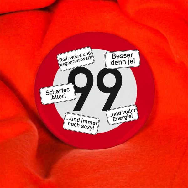 Button zum 99. Geburtstag