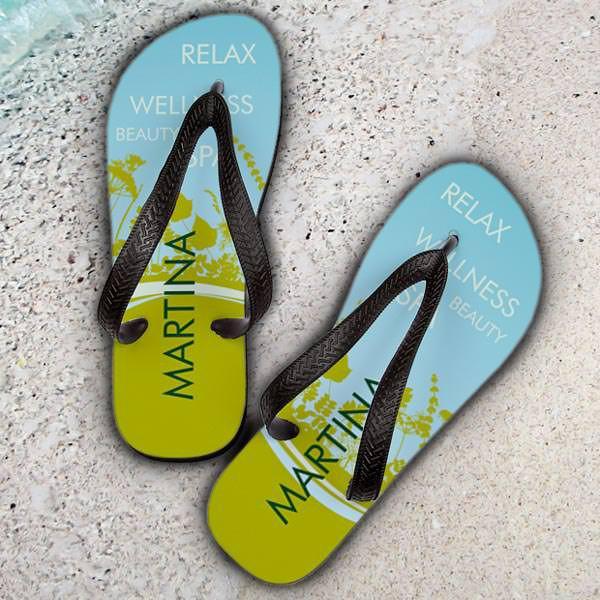 Sandalen mit persönlichem Namen