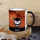 Halloween-Tasse mit gruseliger Figur zum Auswählen