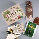 Mach mal Pause - Kaffee Geschenkset mit Tasse und Schokolade in Geschenkverpackung