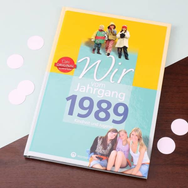 Jahrgansbuch - 1989