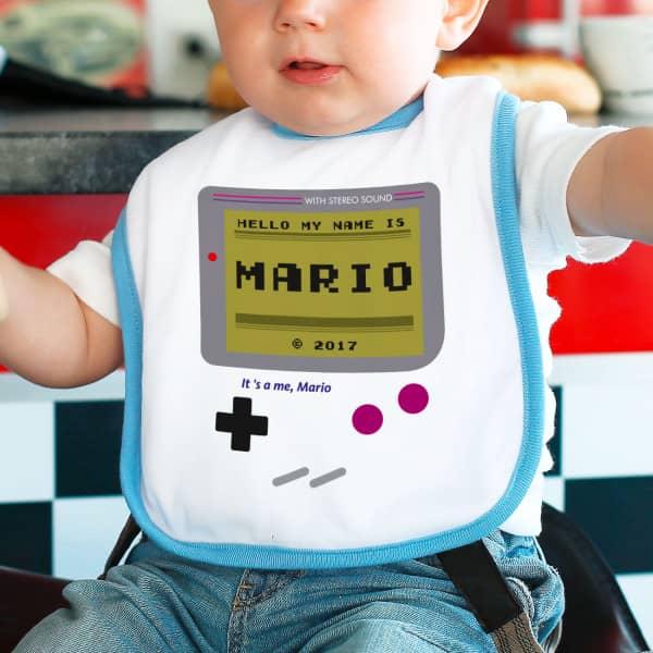 Spielkonsole Lätzchen für kleine Jungen
