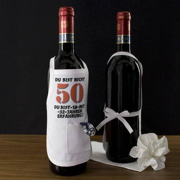 Mini Schürze zum 50. Geburtstag