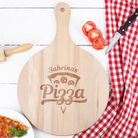 Großes Pizzabrett mit Ihrem Wunschnamen