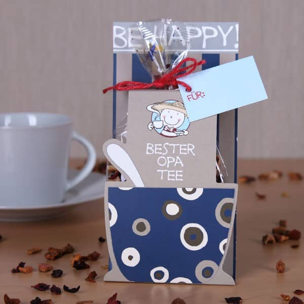 Be Happy - Bester Opa Tee