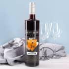 BREE Weinflasche 750 ml zum Geburtstag mit Name und Alter