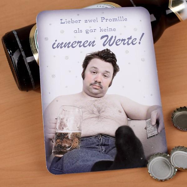 Postkarte mit Glitzereffekt