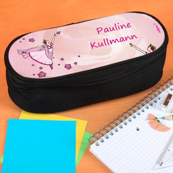 Stiftebox mit persönlichem Ballerina-Aufdruck