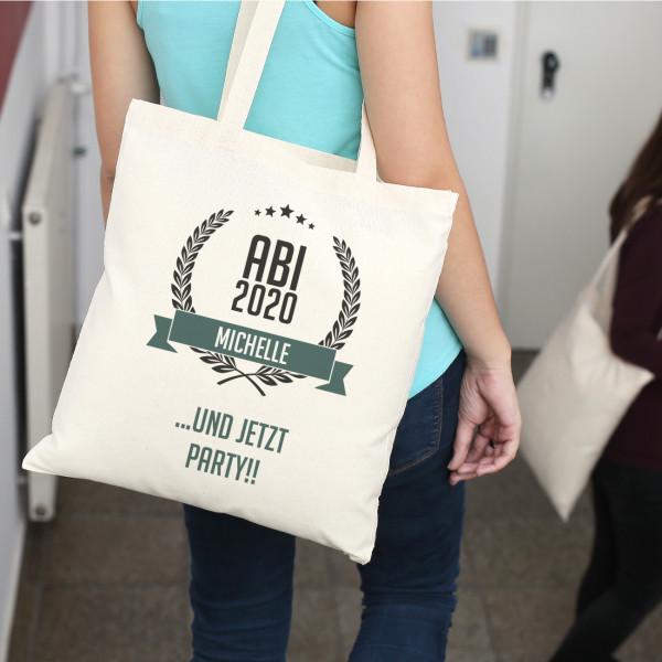 Individuellbekleidung - Abitur 2020 Beutel mit persönlichem Aufdruck - Onlineshop Geschenke online.de
