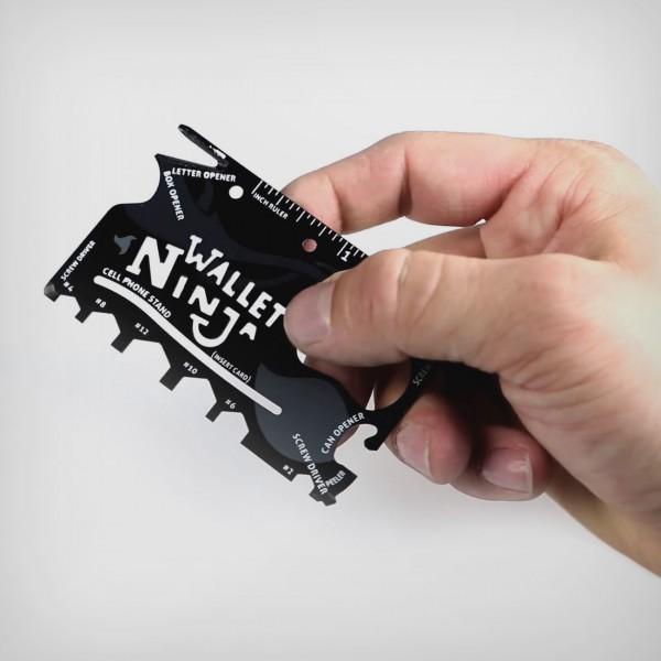 Multifunktions-Tool für die Brieftasche 18 in 1