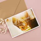 Hochzeitskarte - Just Married - Nature Card