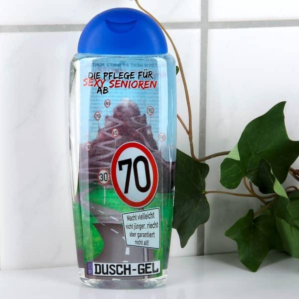 erfrischendes Duschgel gegen Altersgeruch für alle ab 70