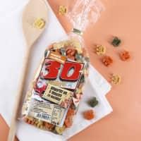 Zahlen-Nudeln zum 30. Geburtstag, Showtime