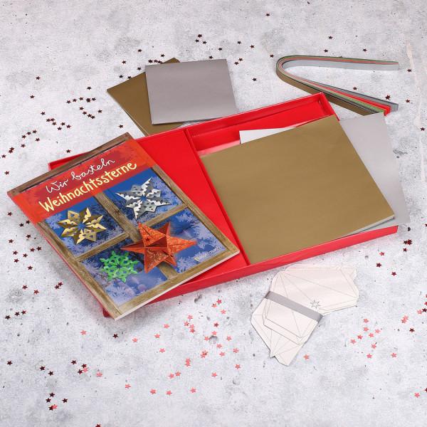 Bastel Box Weihnachtssterne