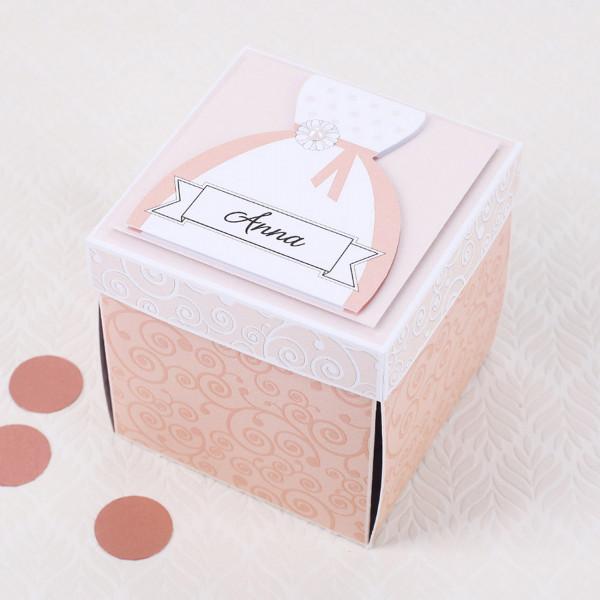 Überraschungsbox für die Braut