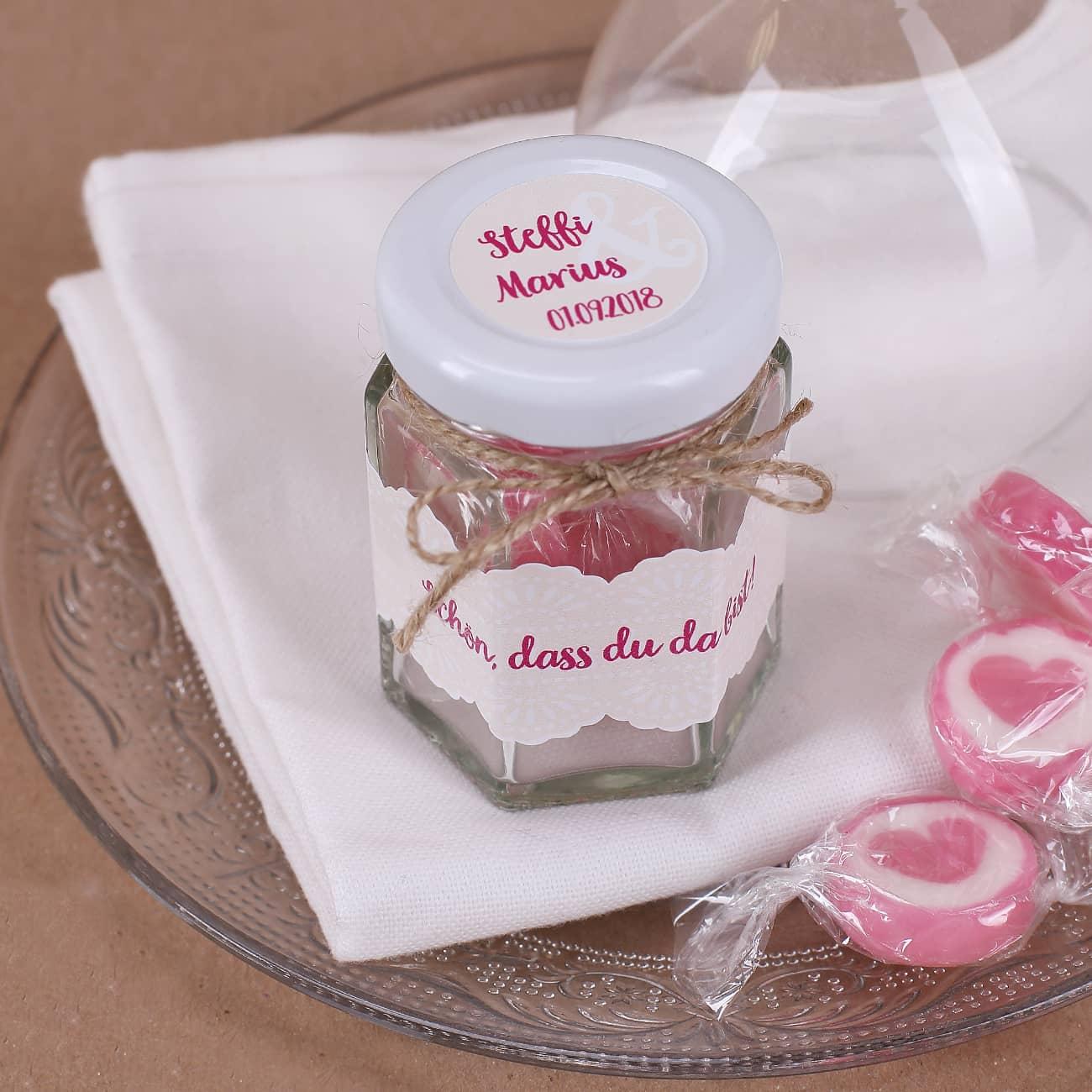 Hochzeitsdeko | Deko für Hochzeit als Geschenk