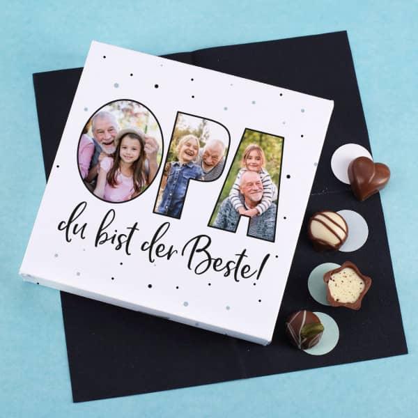 Lindt Foto Pralinenbox mit 3 Fotos
