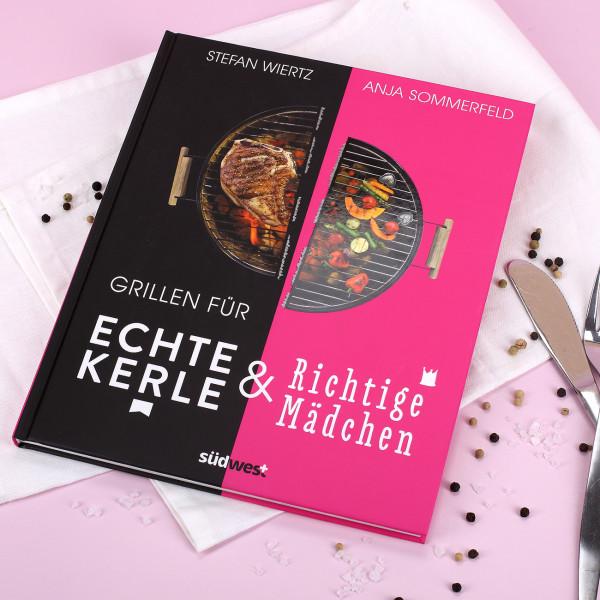 Grillbuch zum drehen für Frauen und Männer