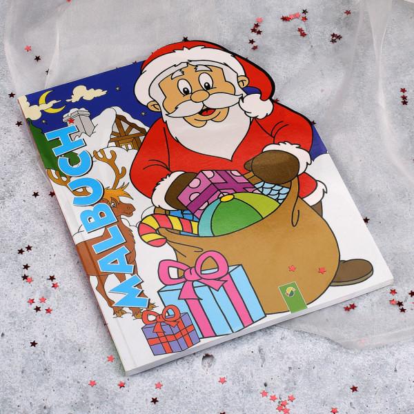 Kinder Malbuch mit Weihnachtsmotiven