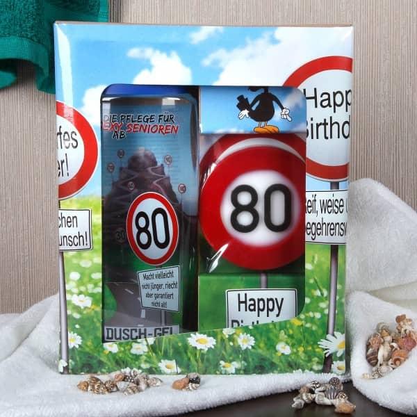 80. Geburtstag Geschenke