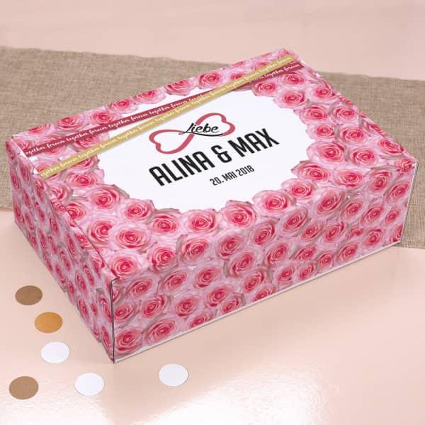 Unendliche Liebe Geschenkverpackung für romantische Anlässe