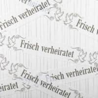 Abgrenzungsseil Frisch verheiratet