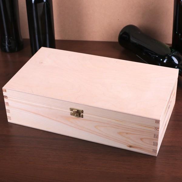 Naturholz Verpackung für Flaschen