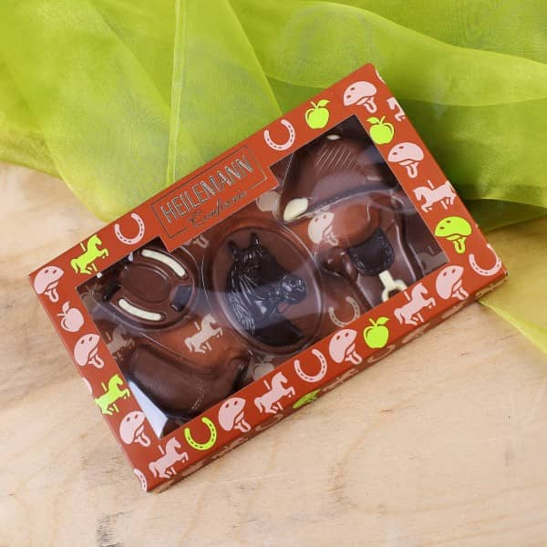 Schokoladen Figuren - Pferdesport