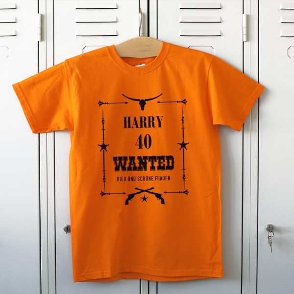 Shirt orange wanted