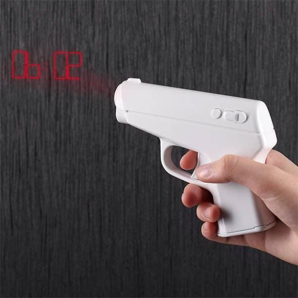 Pistolen Projektions Wecker